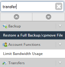 Digital Pacific Pty Ltd - How to restore or migrate a cPanel account
