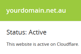 Crucial - Set up Cloudflare